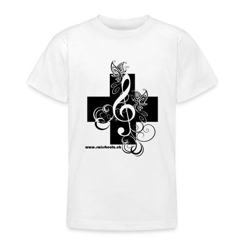 Swiss Beatz Logo non L - Teenager T-Shirt