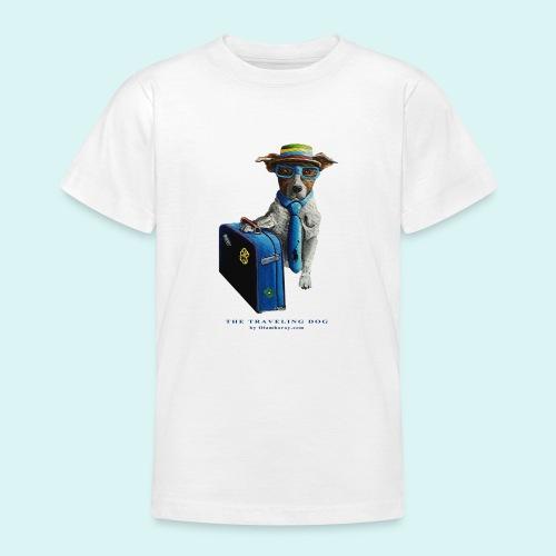 The Traveling Dog - Teenage T-Shirt