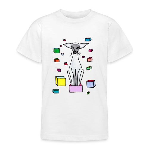 Siames i låda - T-shirt tonåring