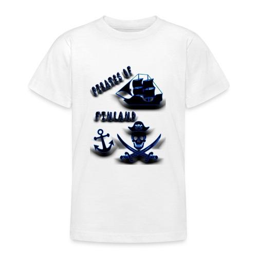 Pirates - Nuorten t-paita