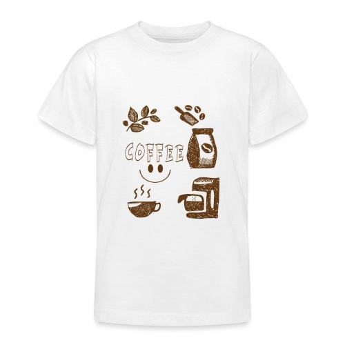 Coffee - Nuorten t-paita