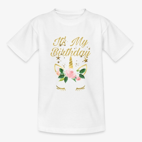 It's My Birthday - Maglietta per ragazzi