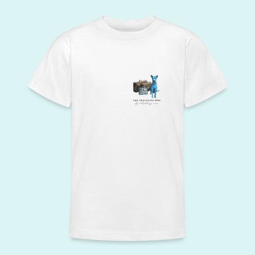 Laly-Blue - Teenage T-Shirt