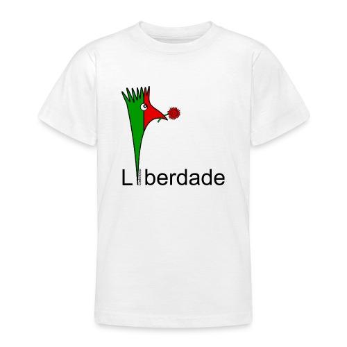 Galoloco - Liberdaded - 25 Abril - T-shirt Ado