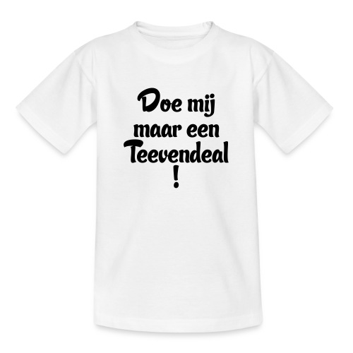 Teevendeal - Teenager T-shirt