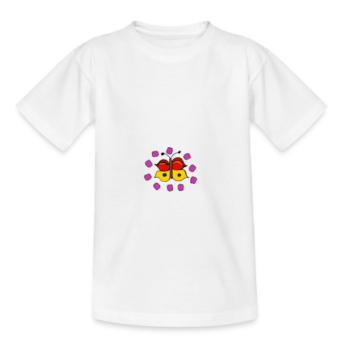 Butterfly colorful - Teenage T-Shirt