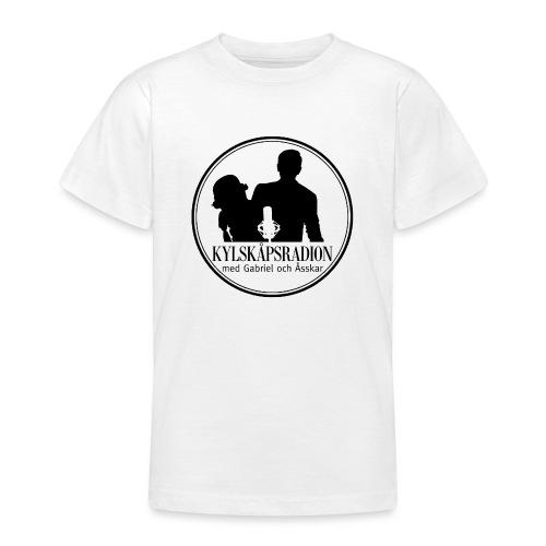 Logga helsvart - T-shirt tonåring