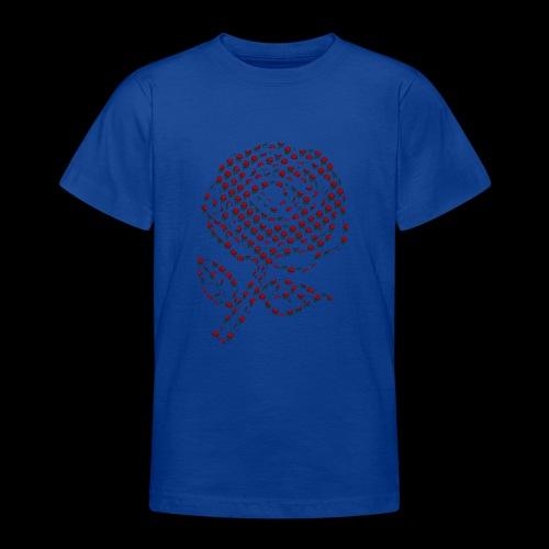 Rose aus Rosen - Teenager T-Shirt