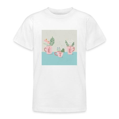 fleurs d'été - Maglietta per ragazzi