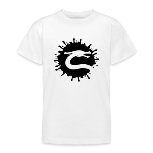 Dragemester_Sort - Teenager-T-shirt