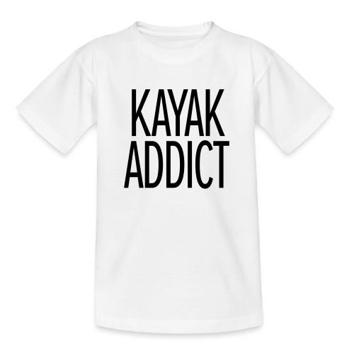 Kayak addict sweat-shirt Contraste - T-shirt Ado