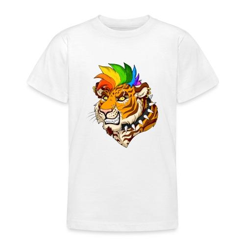 Punk Tiger - Koszulka młodzieżowa