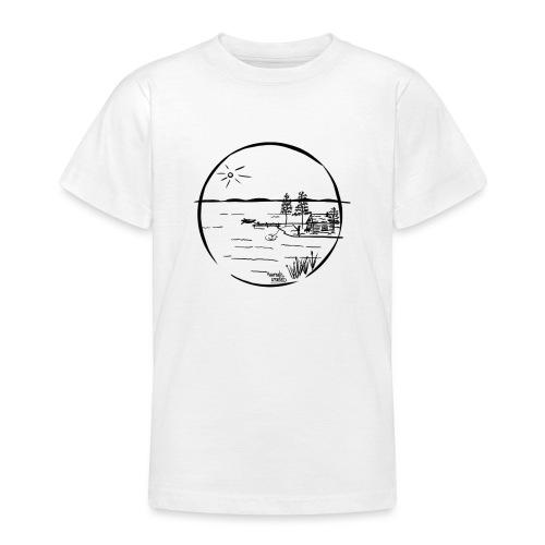 île idyllique - T-shirt Ado