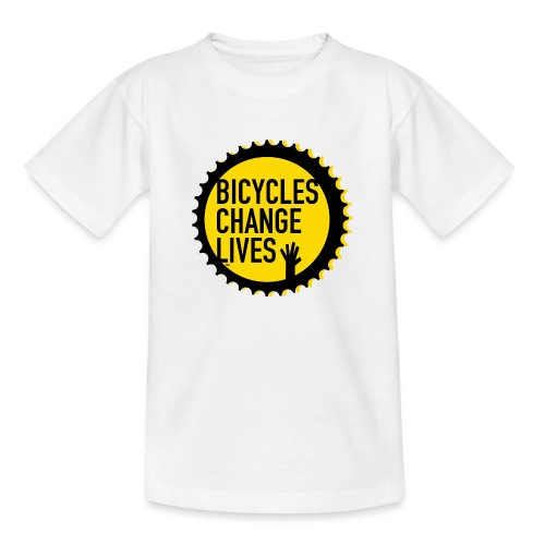 BCL Yellow Cog - Teenage T-Shirt
