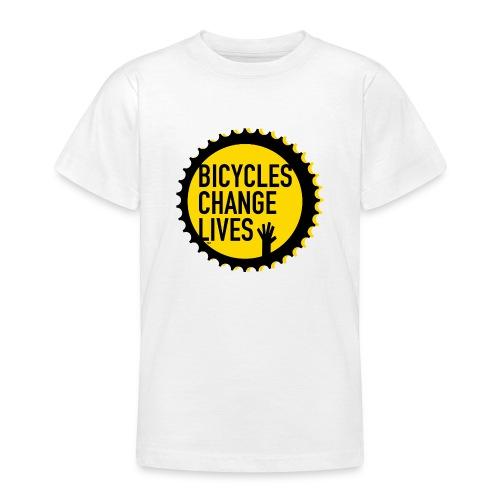 BCL Yellow Cog - Teenage T-Shirt