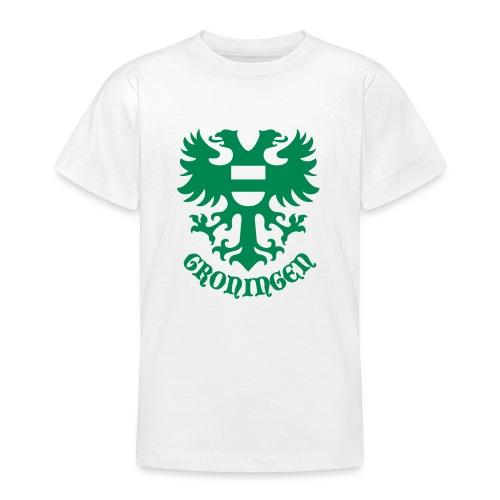 stadswapen groningen met tekst - Teenager T-shirt