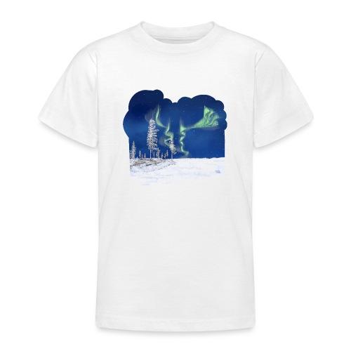 winter met noorderlicht - T-shirt Ado