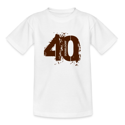 City_40_Düsseldorf - Teenager T-Shirt