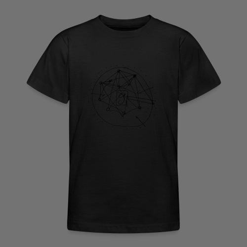 SEO strategia No.1 (musta) - Nuorten t-paita