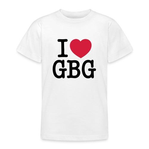 I love GBG - T-shirt tonåring