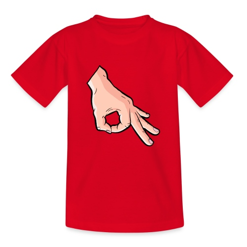 The Circle Game Ok Emoji Meme - Teenage T-Shirt
