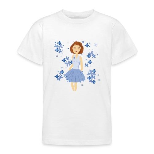 Bloemenmeisje - T-shirt Ado