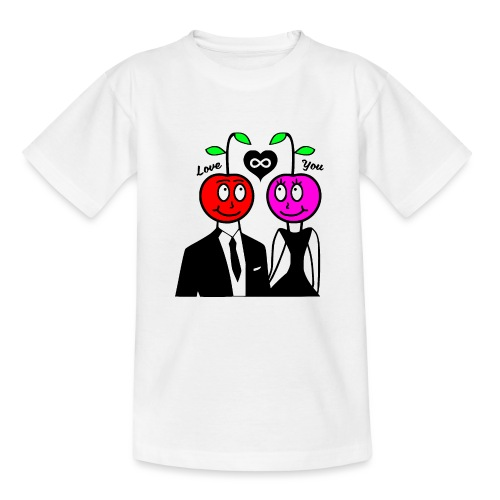 Happy Kirsche - Teenager T-Shirt