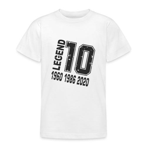 Legend 10 - Camiseta adolescente