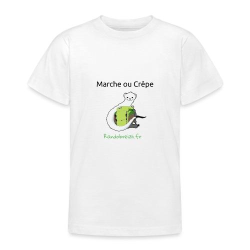 Randobreizh, marche ou crêpe - T-shirt Ado