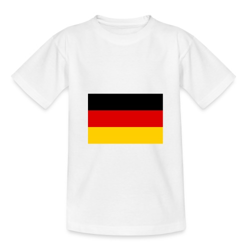 Flag of Germany 3 2 aspect ratio svg png - Teenager T-Shirt