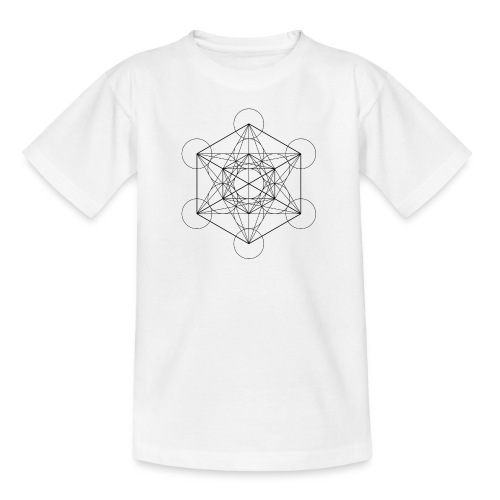Metatrones Cube - Teenager-T-shirt