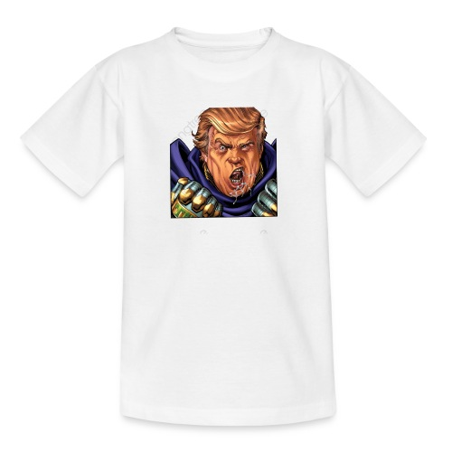 trump cartoon characters free to pull the material - T-shirt Ado