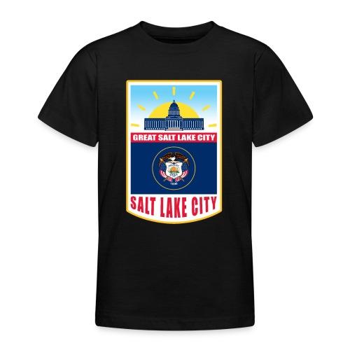 Utah - Salt Lake City - Teenage T-Shirt