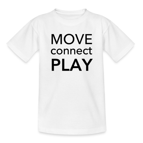 Move Connect Play - AcroYoga International - Teenage T-Shirt