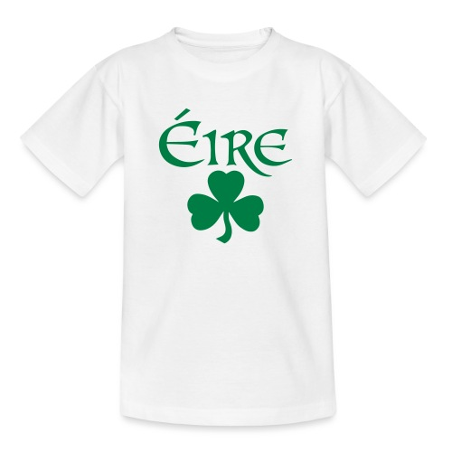 Eire Shamrock Ireland logo - Teenage T-Shirt
