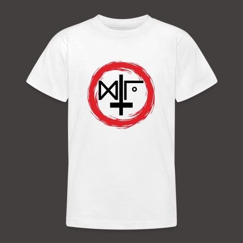 Logo Gu Croix Noir - T-shirt Ado