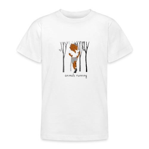 Lion running - T-shirt Ado