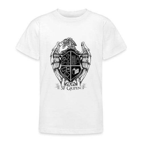 SF Gripen Stor Logga - T-shirt tonåring