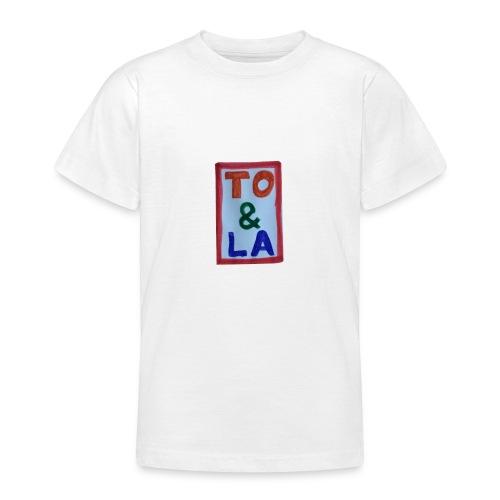 TO & LA - Koszulka młodzieżowa