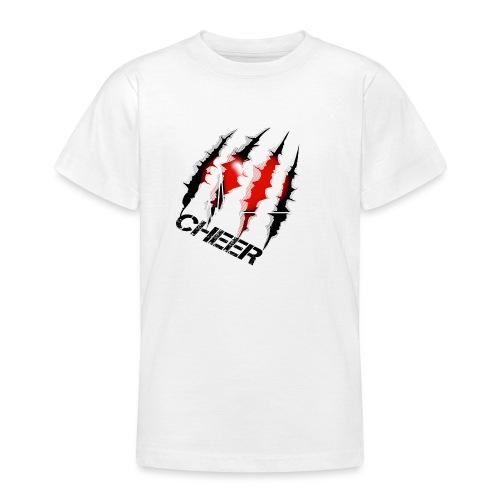 Kratzer mit herz - Teenager T-Shirt