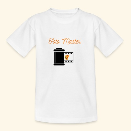 Foto Master 2nd - Teenager-T-shirt
