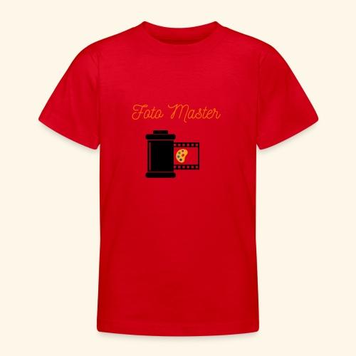 Foto Master 2nd - Teenager-T-shirt
