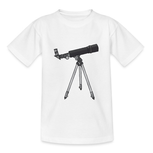 Teleskop Astronomie c - Teenager T-Shirt