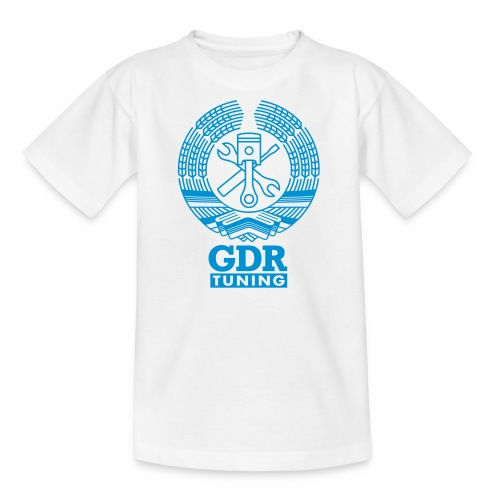 GDR Tuning Coat of Arms 1c - Teenage T-Shirt