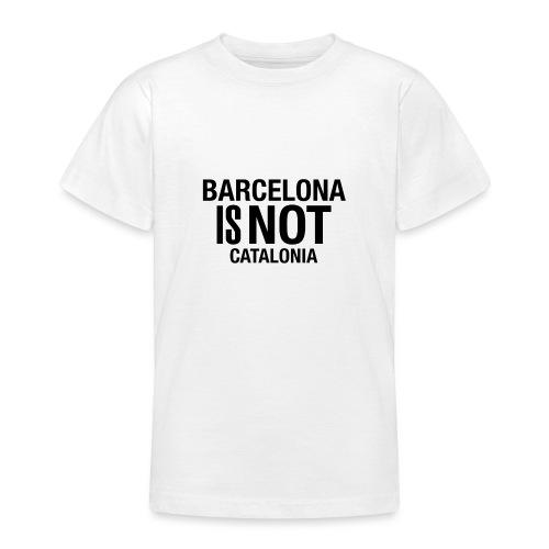 BARCELONA IS NOT SPAIN - Camiseta adolescente