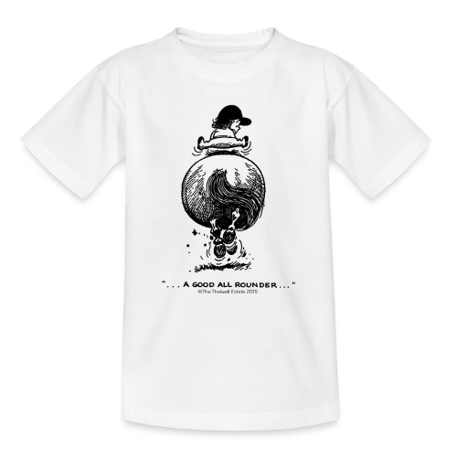 Thelwell Cartoon Pony Galopp - Teenager T-Shirt
