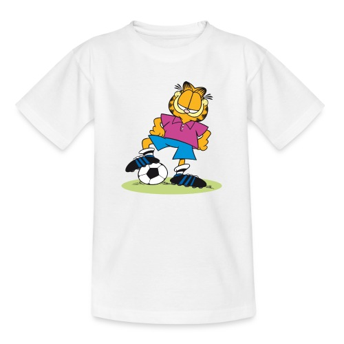 Garfield Soccer Player - Teenager T-Shirt
