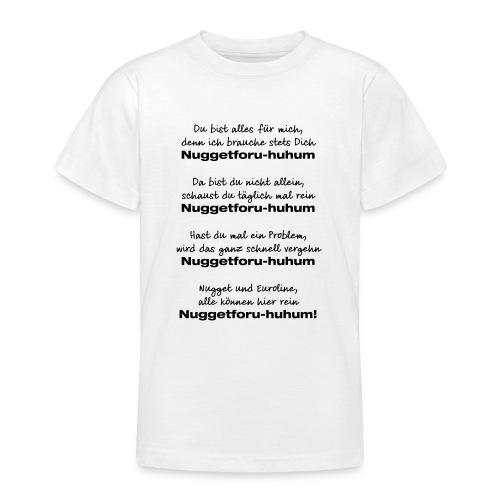 Du bist alles für mich - Teenager T-Shirt
