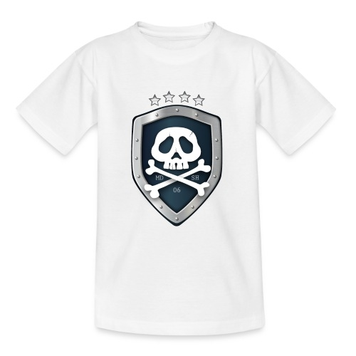 champion's league skull 06 - T-shirt Ado