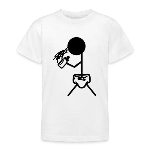 Strichmännchen_Baby - Teenager T-Shirt